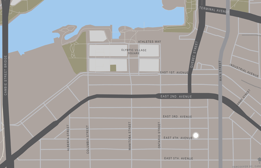 Paul Saugha Map location